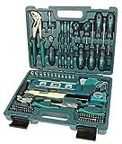 Brüder Mannesmann Werkzeuge 87-teilig Werkzeugkoffer, 1 Stück, M29084