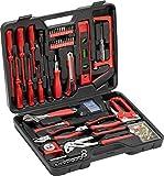 Meister Haushaltskoffer 60-teilig - Werkzeug-Set - Werkzeug für den täglichen Gebrauch /...