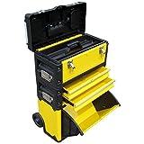 Metall Werkzeugtrolley XL Type B305ABD - jetzt neu mit Schubladenverriegelung und Schloss von AS-S
