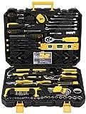 Mechaniker-Werkzeugset, 198-teilig, Haushaltswerkzeugset mit Werkzeugkoffer