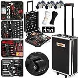 Monzana Werkzeugkoffer XXL gefüllt Set 899tlg   Qualitätswerkzeug - Werkzeugkasten Werkzeugkiste...