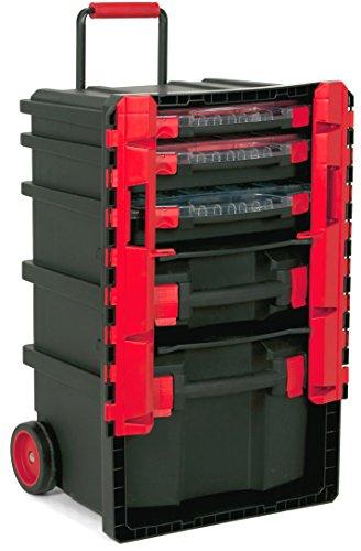 TAYG 159008 Trail-Box Nr.59 PRO Werkzeugtrolley Nr. 59 500 x 410 x 770 mm