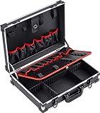 Meister Werkzeugkoffer leer - 460 x 320 x 140 mm - Individuelle Fachaufteilung - 15 Werkzeugtaschen...