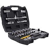 LMJ Werkzeugkasten 32-Stück Socket Set Werkzeugkästen Auto-Reparatur-Werkzeug-Sets Bewegliche...