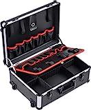 Meister Werkzeugtrolley leer - 460 x 350 x 190 mm - Mit Rollen - Individuelle Fachaufteilung - 15...