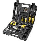 Jiaming 11-teiliges Werkzeugset für den Haushalt, Werkzeugkasten, Heimwerker-Reparatur-Set mit...
