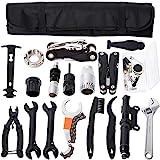YBEKI Fahrrad Werkzeug Reparaturset - Fahrrad Reifen Werkzeug Set mit Minipumpe...