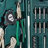 Brüder Mannesmann M29085 Premium Universal und Haushalts-Werkzeugkoffer, 89-tlg