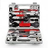 Fahrrad Werkzeugkoffer, 48 TLG. Set, Fahrrad Werkzeug Set, Fahrrad Reparatur Werkzeug Set mit...