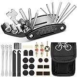 Sylanda Fahrrad Multitools, 16 in 1 Fahrrad Reparatur Set, Werkzeuge für Fahrrad,...