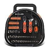DNA MOTORING TOOLS-00026 64-teiliges Werkzeugkoffer für Mechaniker, Auto & Home Repair Tool Box mit...