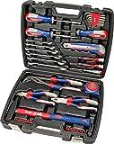kwb 370733 Werkzeug-Koffer inkl. Schrauber-Bits, 42-teilig, gefüllt, robust und hochwertig, ideal...