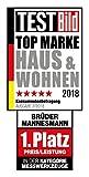 Brüder Mannesmann M29065 Universal Haushalts-Werkzeugkoffer, 60-tlg