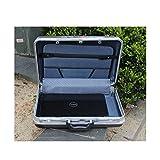EXUAN ABS Aluminium Werkzeugkoffer Werkzeugkoffer Aluminiumrahmen Business Beratung Koffer Mann...