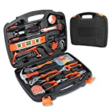 106-Teiliges Werkzeugkoffer, Smalibal Premium Universal Werkzeugkasten, Haushalts-Werzeug Set mit...