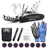 TOLIANCLE Fahrrad-Multitool, 16 in 1 Werkzeuge für Fahrrad Reparatur Set Multifunktionswerkzeug...