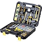 WMC TOOLS Werkzeug Set Werkzeugkoffer 700 teilig mit Bit Set Werkzeugset Haushalt Werkzeuge Set...