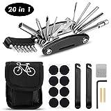 Migimi Fahrrad-Multitool, Fahrrad Werkzeug Tool 20 in 1 Multifunktions-Reparatursatz Fahrradwerkzeug...