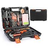 52-Teiliges Werkzeugkoffer, Smalibal Premium Universal Werkzeugkasten, Haushalts-Werzeug Set mit...