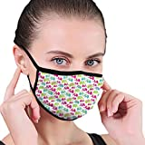 Traditional Ethnic Motifs Of Asia Paisleys And Flowers Colorful Oriental Design Unisex Face Mask...